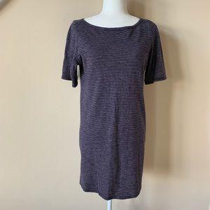 Eileen Fisher stripe jersey dress #770